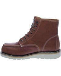 Carhartt - Brown 6in Moc Toe Wedge Tan Boot - Lyst
