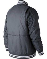 New Balance - Multicolor Mj83710 Dug Out Jacket for Men - Lyst