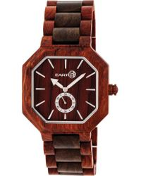 Earth Wood - Brown Acadia Bracelet Watch - Lyst