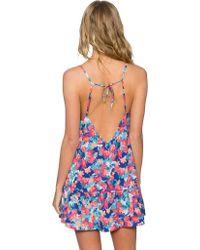 Sunsets - Blue Riviera Dress - Lyst