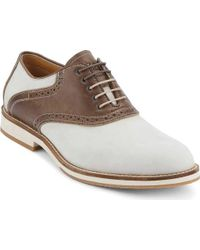 G.H. Bass & Co. - Brown Noah Saddle Buck for Men - Lyst