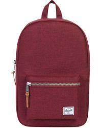 Herschel Supply Co. - Red Settlement Backpack Rucksack Bag - Lyst