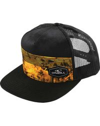 O'neill Sportswear - Black Hyperfreak Trucker Hat for Men - Lyst