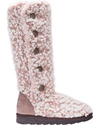 Muk Luks - Pink Felicity Snow Boot - Lyst