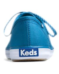 Keds - Blue Champion Oxford Seasonal - Lyst