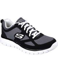 Skechers - Black Burns Agoura Training Shoe for Men - Lyst