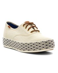 Keds - Multicolor Triple Raffia Foxing - Lyst