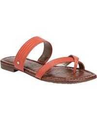 Sam Edelman - Multicolor Bernice Toe Loop Sandal - Lyst