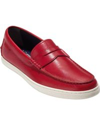 Cole Haan - Red Pinch Weekender Loafer for Men - Lyst