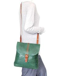 Nino Bossi - Green Elysia Leather Convertible Backpack - Lyst