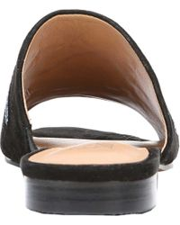 Franco Sarto - Black Ellie Slide - Lyst