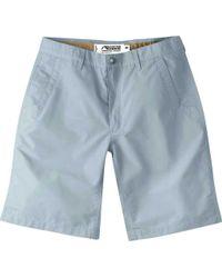 """Mountain Khakis - Blue Poplin Short 10"""" for Men - Lyst"""