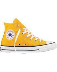 7c7fddacd663 Lyst - Converse Chuck Taylor All Star High Top Sneaker in Yellow for Men