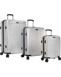 Anne Klein - Metallic Dubai 3-piece Hardside Luggage Set - Lyst