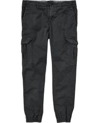 "Timberland | Black Lovell Lake Slim Tapered Hybrid Cargo Pant 32"" Leg for Men 