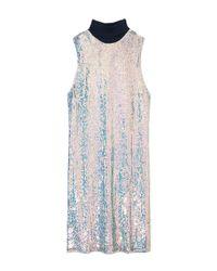 3.1 Phillip Lim | Blue Iridescent Sequin Dress | Lyst