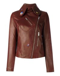 Christopher Kane | Brown Embroidered Jacket | Lyst