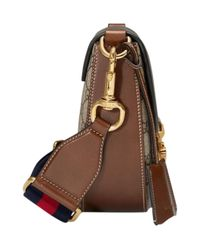 Gucci - Brown Dionysus Medium Gg Supreme Hobo Bag - Lyst