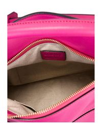 Loewe - Pink Mini Puzzle Leather Cross-Body Bag - Lyst