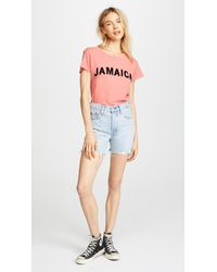 Wildfox - Pink Jamaica No9 Tee - Lyst