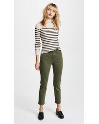 AG Jeans - Green The Isabelle Jeans - Lyst