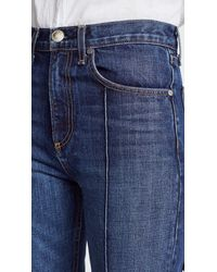 Rag & Bone - Blue The Ankle Straight Leg Jeans - Lyst