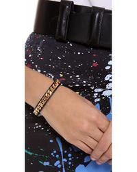 Vita Fede - Black Monaco Single Bracelet - Lyst