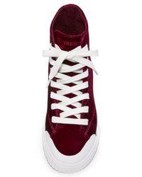 Tretorn - Multicolor Marley Velvet High Top Sneakers - Lyst
