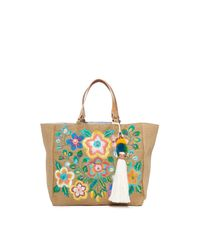 Star Mela - Multicolor Flori Embroidered Tote - Lyst