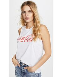 Chaser - White Coca Cola Tee - Lyst