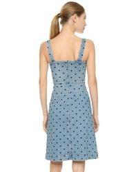 Stella McCartney - Blue Linda Denim Dress - Lyst