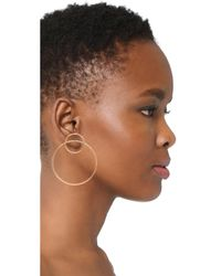 Amber Sceats - Metallic Gray Earrings - Lyst