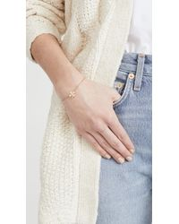 Jennifer Zeuner - Metallic Mini Clover Bracelet - Lyst