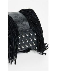 Alexander Wang - Black Mini Rockie Fringe Duffel Bag - Lyst