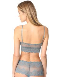 Only Hearts | Blue So Fine Lace Bralette | Lyst