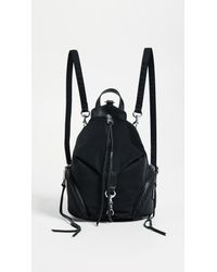 Rebecca Minkoff - Black Nylon Mini Julian Backpack - Lyst