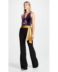 3eca71bd25dc Lyst - Ramy Brook Nina Jumpsuit in Black