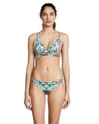 OndadeMar - Multicolor Amazonia Strappy Bikini Top - Lyst