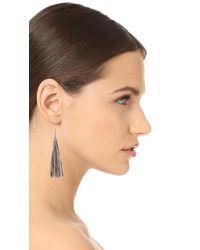 Rebecca Minkoff - Multicolor Long Tassel Earrings - Lyst