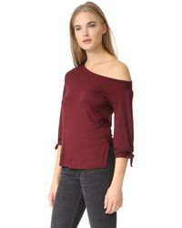 Ella Moss - Red Bella Top - Lyst