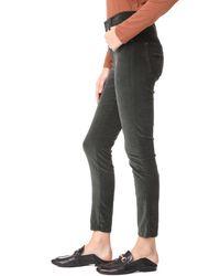 James Jeans - Multicolor Velveteen Skinny High Rise Legging Jeans - Lyst