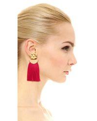 Lizzie Fortunato - Multicolor Poppy Fringe Earrings - Lyst