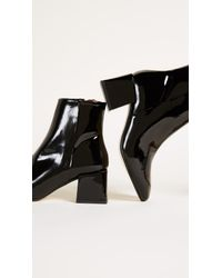 LOQ - Black Lazaro Square Toe Booties - Lyst