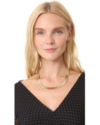 Vanessa Mooney | Metallic The Ghostface Chain Necklace | Lyst