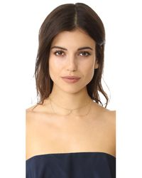 Jacquie Aiche - Metallic Ja Selena Necklace - Lyst