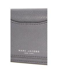 Marc Jacobs - Gray Recruit Open Face Wallet - Lyst