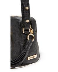 MILLY - Black Camera Bag - Lyst