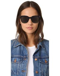 Victoria Beckham | Black The Vb Sunglasses | Lyst