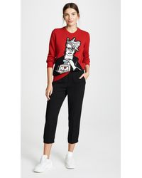 Michaela Buerger - Red Icon Perfume Sweater - Lyst