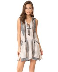 Free People | Multicolor All Right Now Mini Dress | Lyst